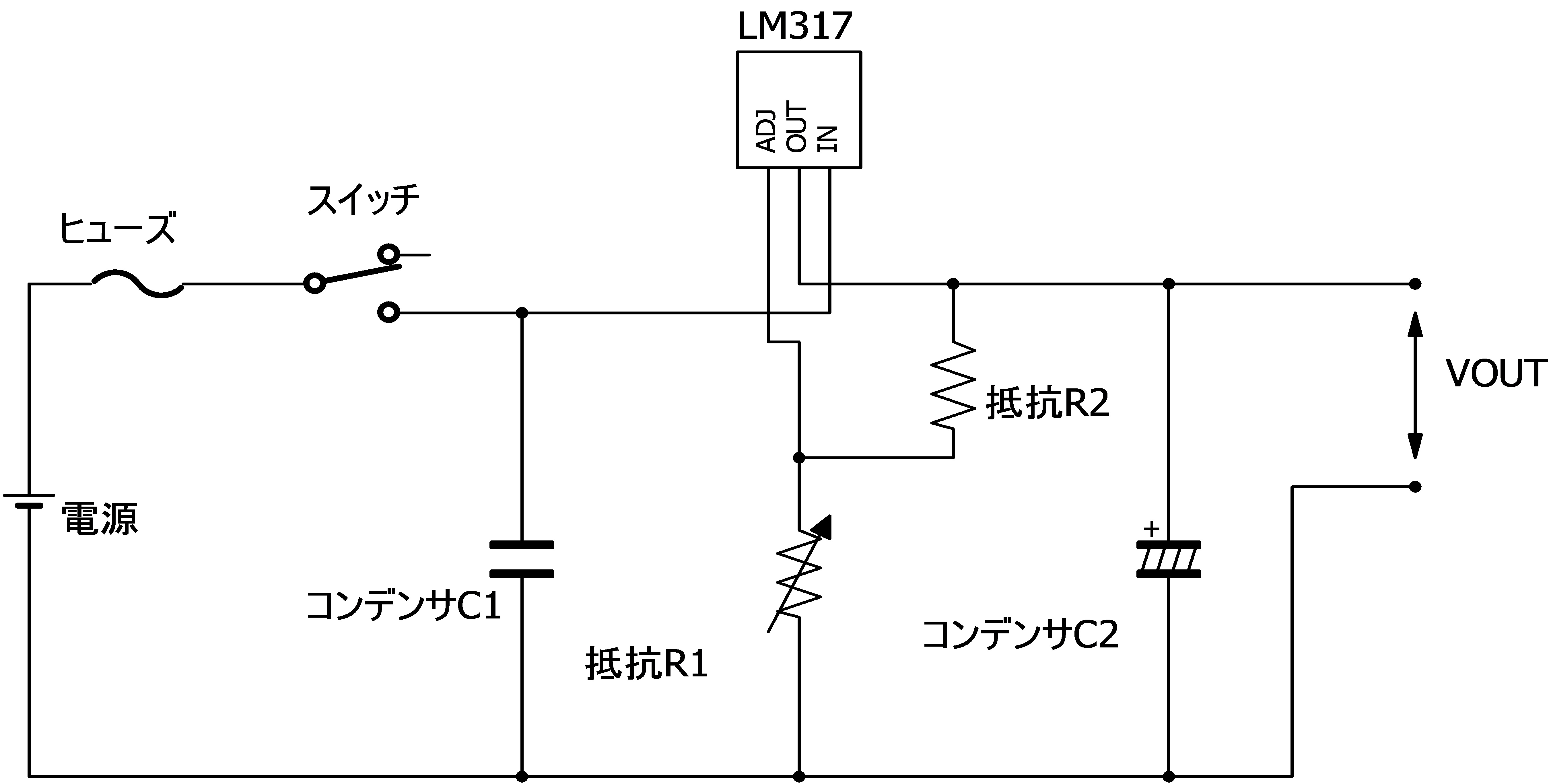 3 Lm317 Lm317k